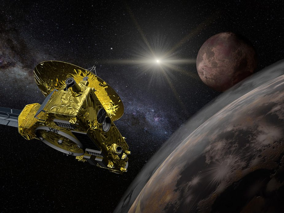 New-Horizons-space-probe-Pluto-flyby