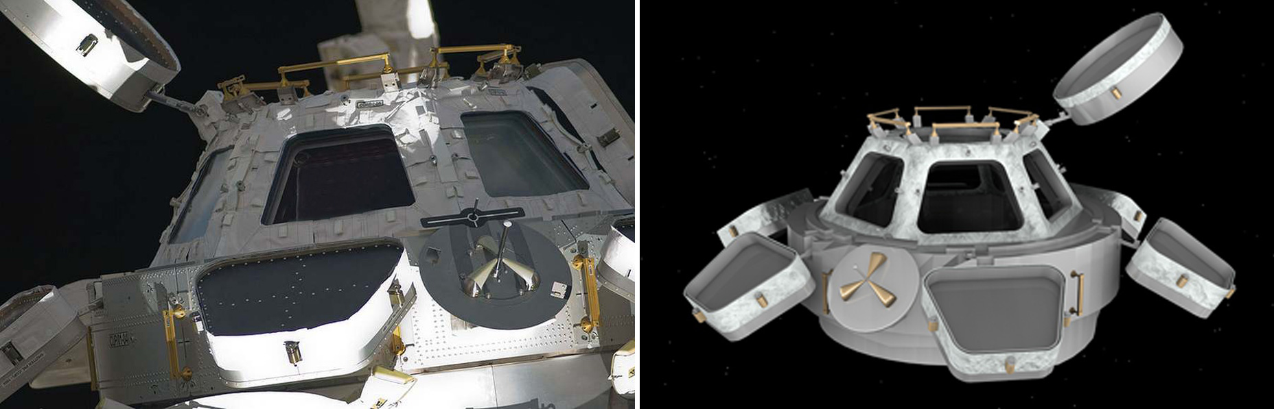 How we produced a 3D model of the International Space