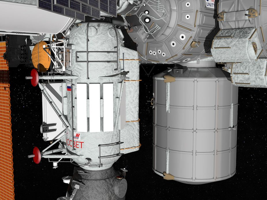 ISS-Rassvet-and-Leonardo-detail