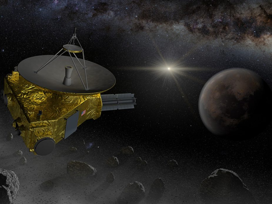New-Horizons-space-probe-fly-into-Kuiper-belt