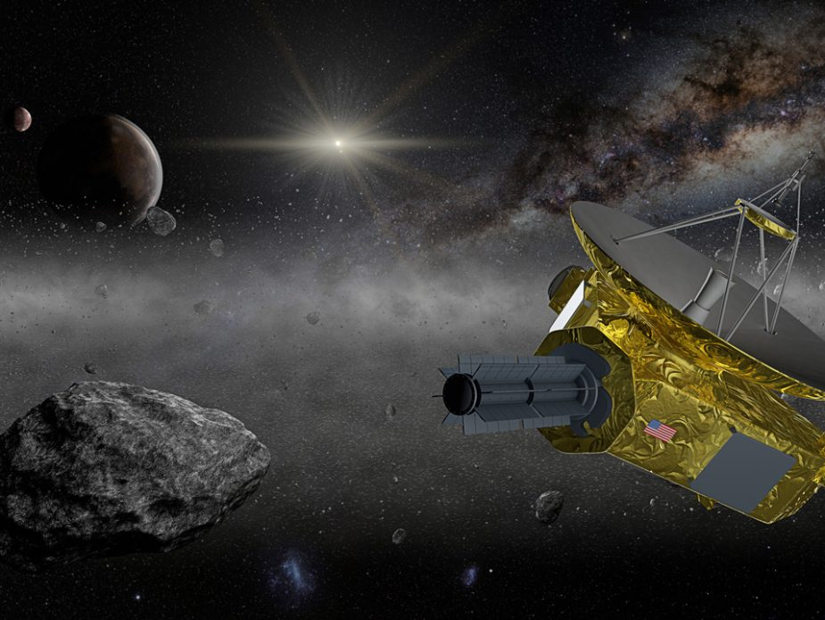 New-Horizons-space-probe-in-the-Kuiper-belt